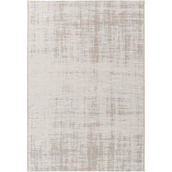 Decovio 12546-BN Oswego 91 X 63 inch Brown and Neutral Outdoor Area Rug Polypropylene
