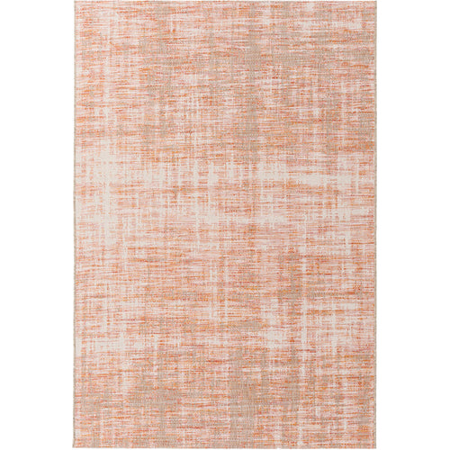 Decovio 12549-OR Oswego 91 X 63 inch Orange and Red Outdoor Area Rug Polypropylene