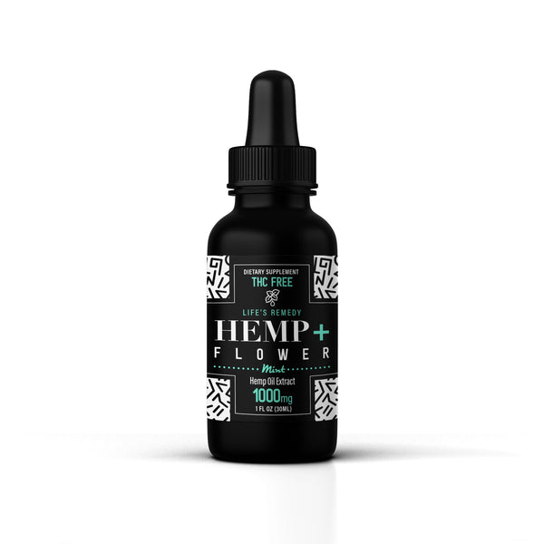 Hemp Oil - 1000 mg - Mint Flavored