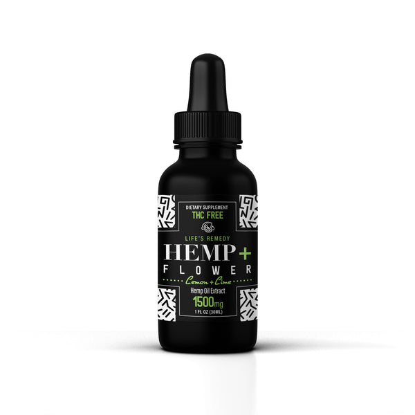 Hemp Oil - 1500 mg - Lemon-Lime Flavor