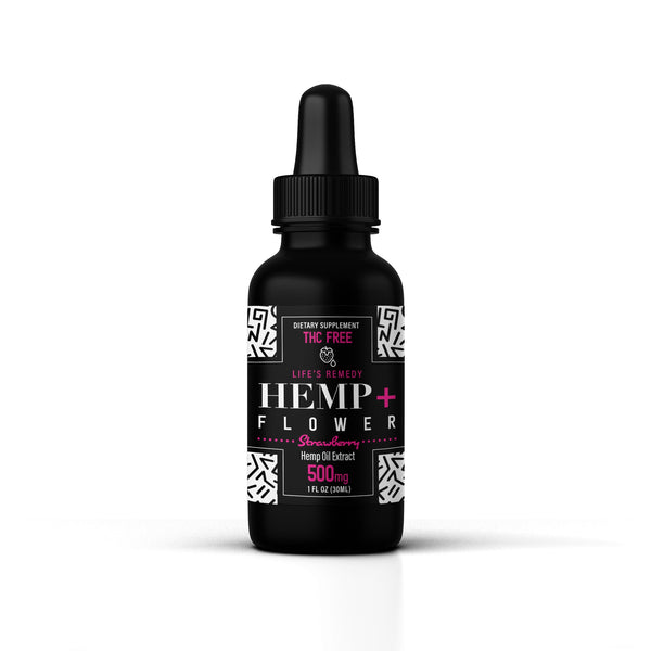 Hemp oil - 500 mg Strawberry Flavor