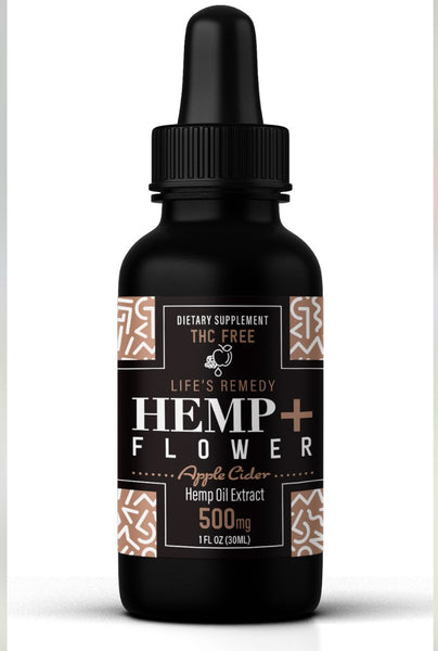 Apple Cider CBD oil - Holiday Special! 500 mg - Back In Stock!