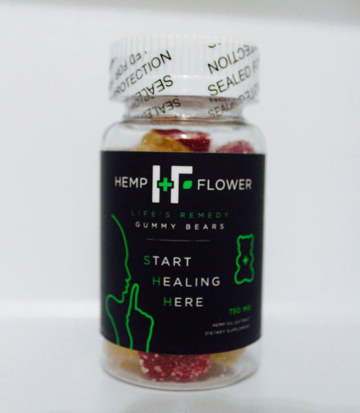 Gummy Bears - 25 mg - 30 count 750 mg
