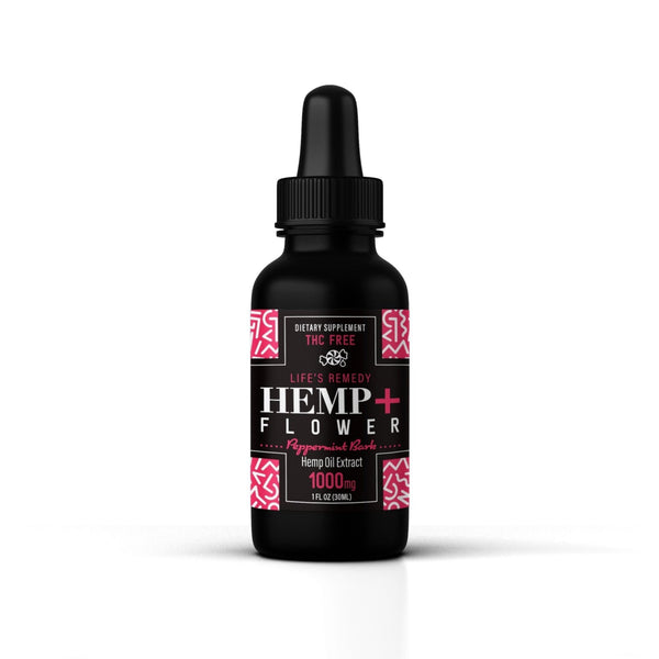 Peppermint Bark CBD oil - Holiday Special! 1000 mg - Back In Stock!