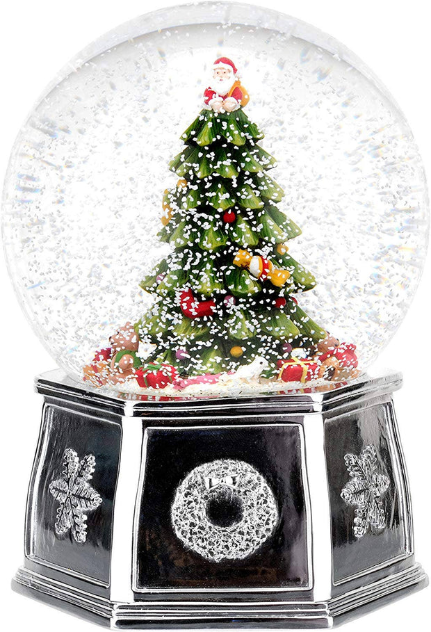 Christmas Tree 6.5 Inch Tree Musical Snow Globe