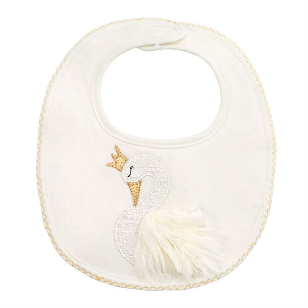 FRENCH TERRY SWAN BIB