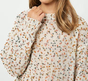 Textured Confetti Sweater