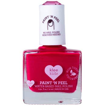 Water-Based Peelable Nail Polish