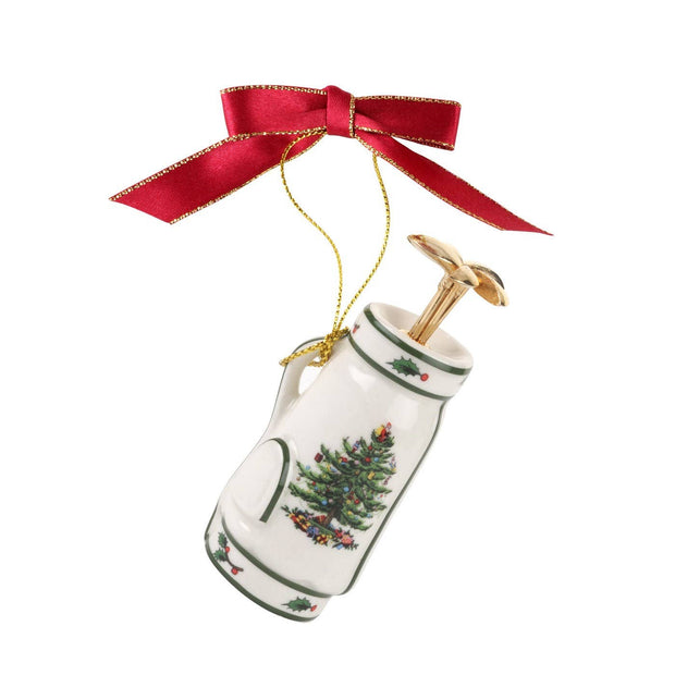 Christmas Tree Golf Bag Ornament