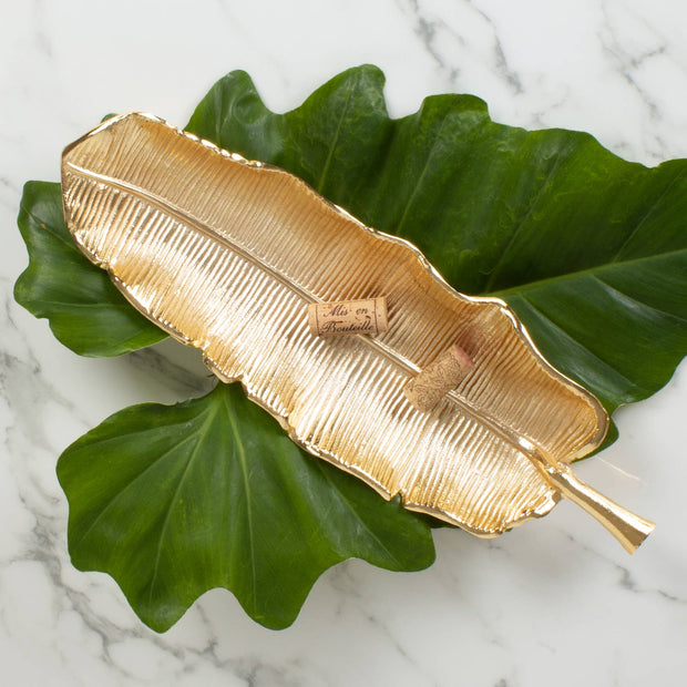 8 Oak Lane - Banana Leaf Vanity Tray