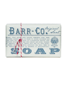 BARR-CO. ORIGINAL SCENT TRIPLE MILLED BAR SOAP