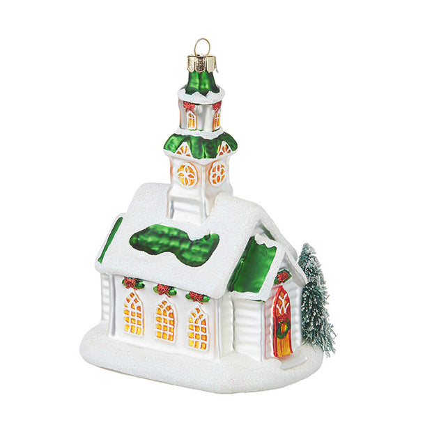 "5.75"" Church Ornament"
