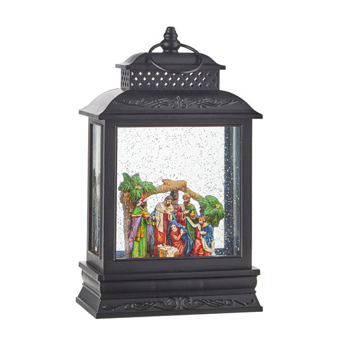 "10.5"" Nativity Musical Lighted Water Lantern"