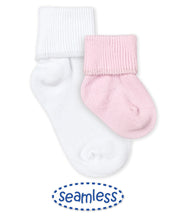 Smooth Toe Turn Cuff Sock - 1 Pair