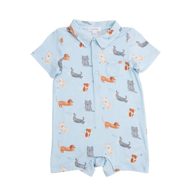 Puppy Play Polo Shortie