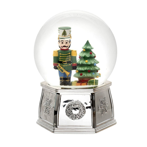 Christmas Tree Musical Nutcracker Snowglobe