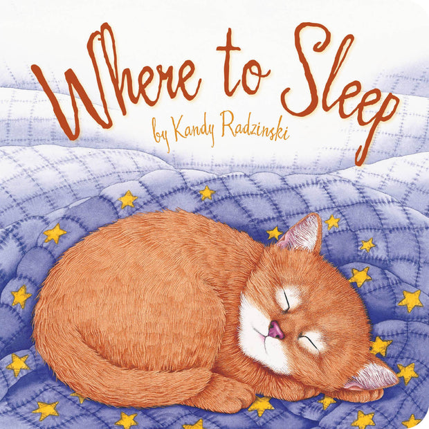 Where to Sleep Board Book for Toddlers