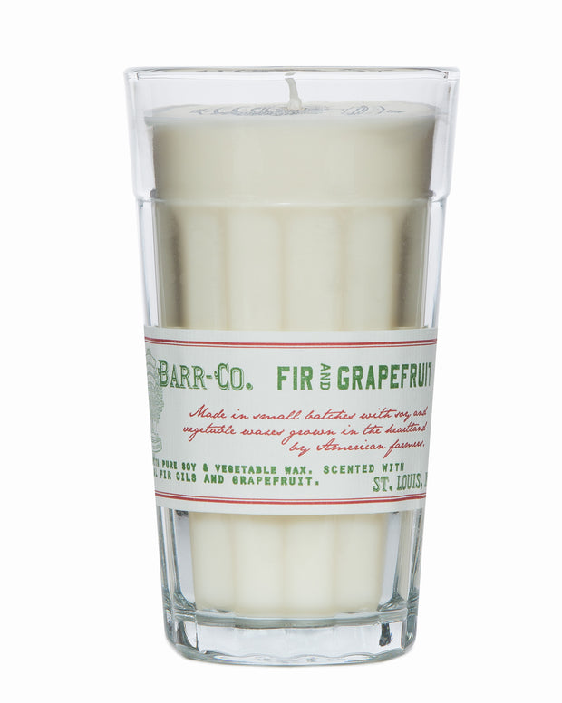 FIR & GRAPEFRUIT PARFAIT GLASS CANDLE