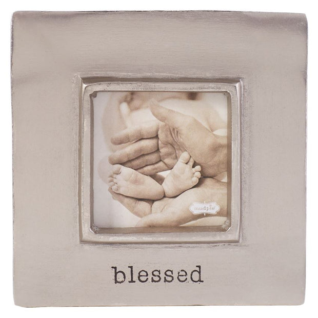 MUDPIE BLESSED PEWTER FRAME