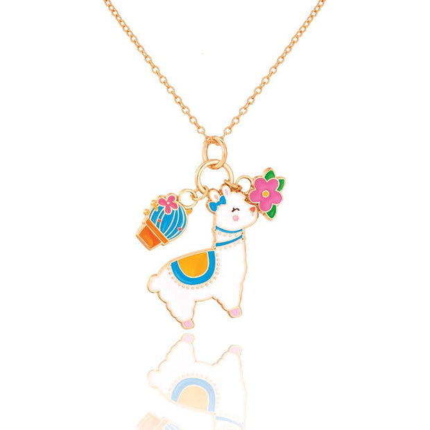 Whimsy Llama Necklace