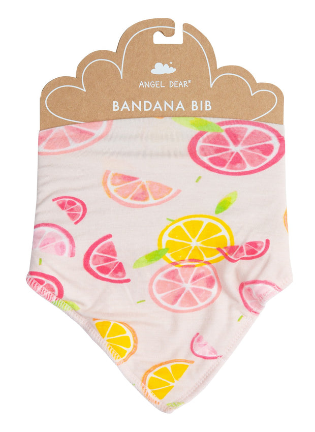 Citrus Cotton Bib