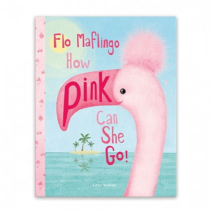 FLO MAFLINGO HOW PINK CAN SHE GO BOOK