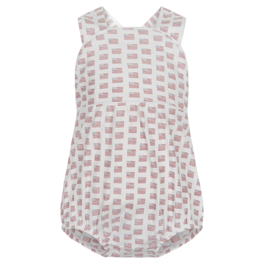 Benton Boys Sleeveless criss cross bubble Americana