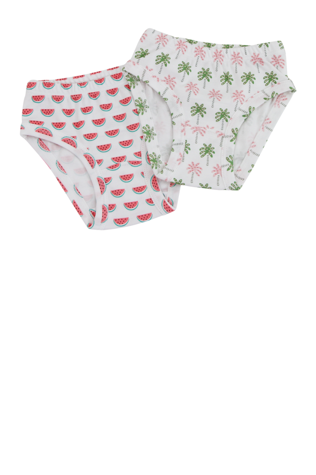 LAUREN GIRLS UNDERWEAR- Palm Trees