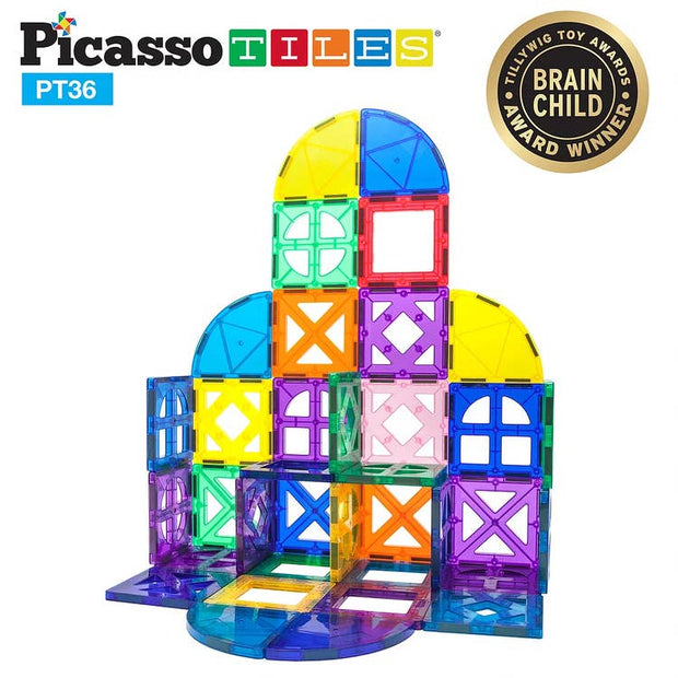 36 Piece Magnetic Building Block