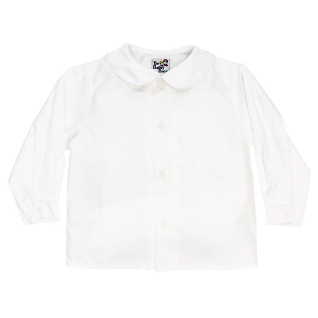 BOYS LONG SLEEVE PIPED SHIRT
