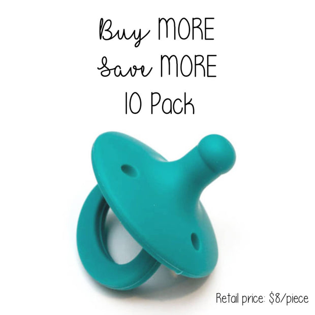 Getting Sew Crafty - 10 Pack - OLI pacifier - PEACOCK