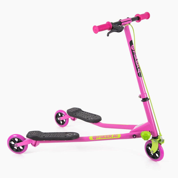 Yvolution Pink/Green Yflicker Air A1 2.0