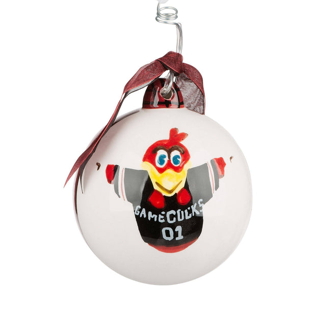 Glory Haus - South Carolina Mascot Ball Ornament