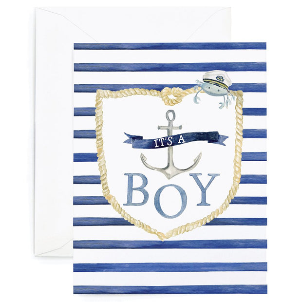 Nautical Boy Card