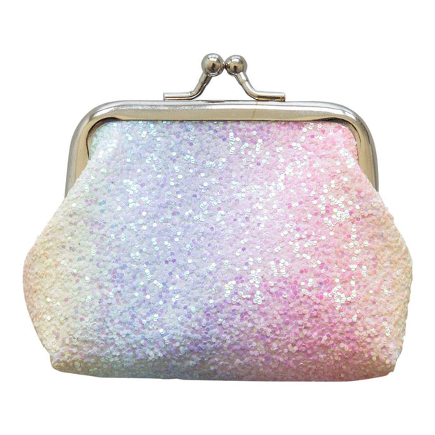 Unicorn Glitter Coin Purse