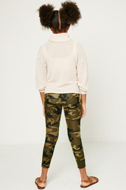 Camo Lace Cutout Leggings