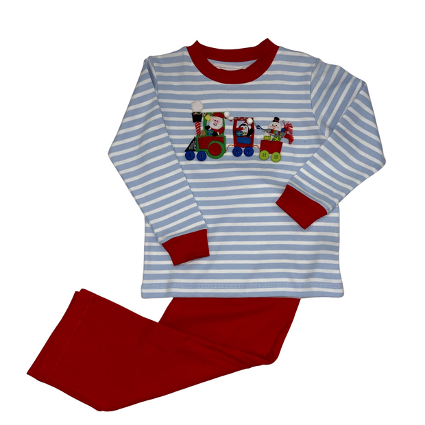 Santa Train Boys 2pc Set