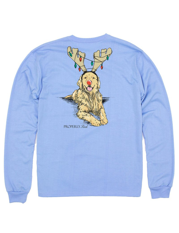 LD Golden Holiday Tee