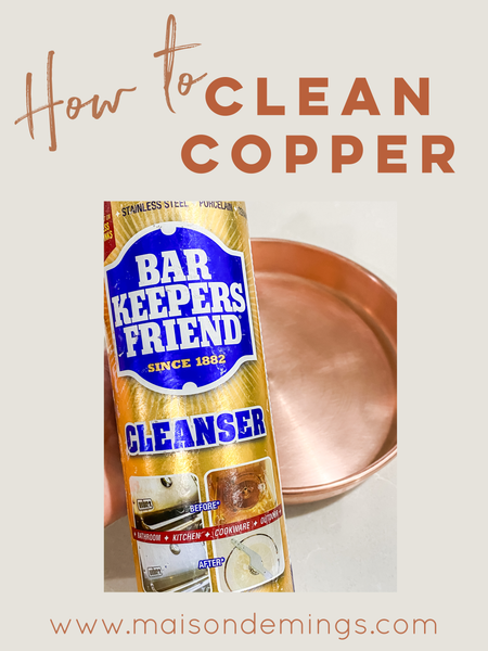 Cleaning Copper
