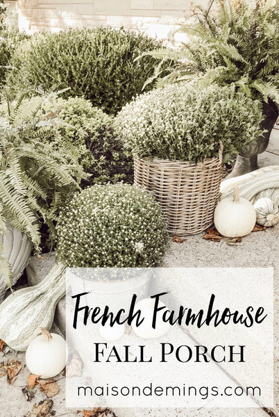 French Farmhouse Fall Porch