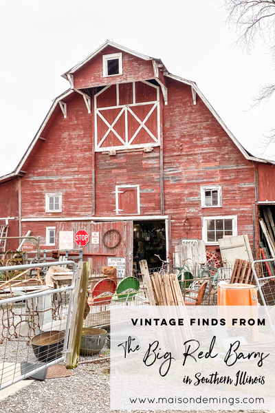 Vintage Finds from The Big Red Barns