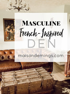 Masculine French Den