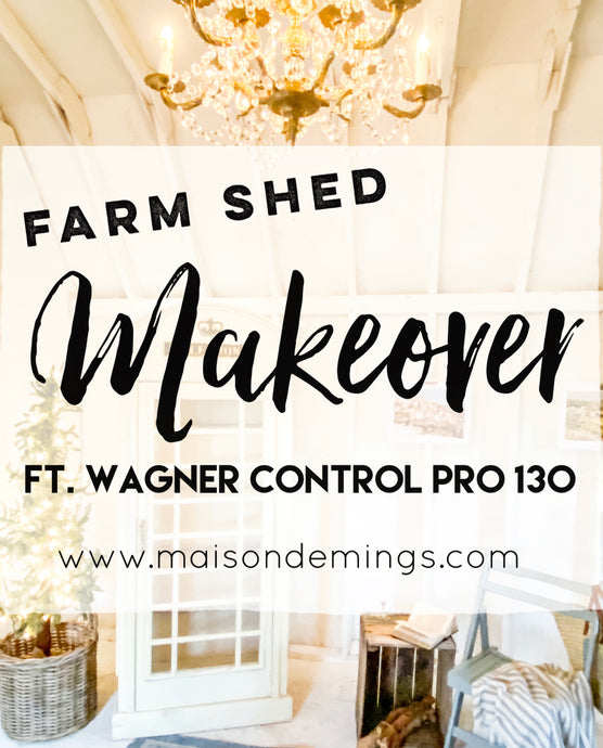 Farm Shed Makeover