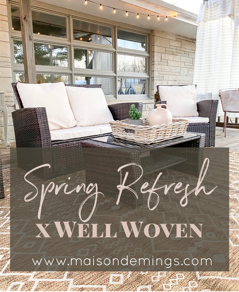 Spring Refresh x Well Woven