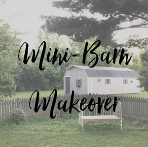 Mini-Barn Makeover