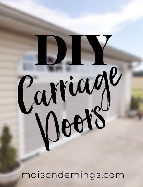 DIY Carriage Doors