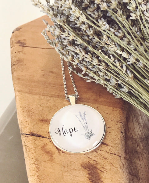 Hope - Word Necklace