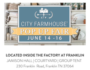 City Farmhouse Pop Up Fair