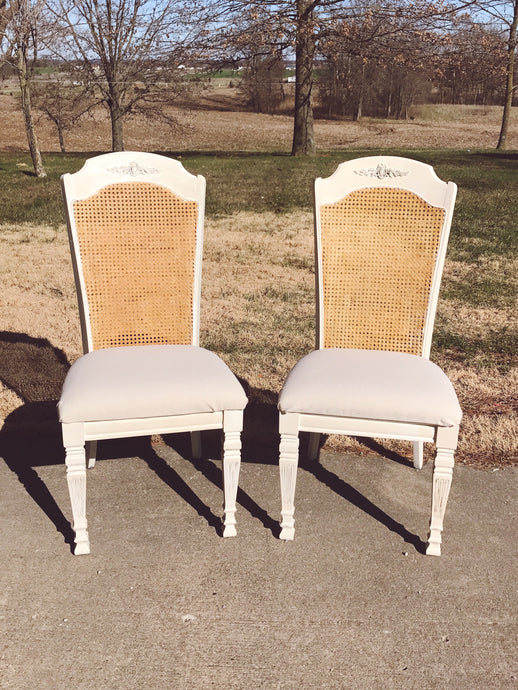 DIY French Country Chairs