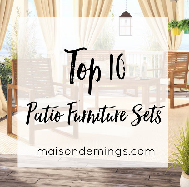 Way Day Top Picks - Patio Furniture Sets (under $500)
